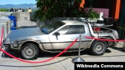 """The Iranian device sounds slightly more modest in scale than the time-traveling DeLorean from """"Back to the Future,"""" with its inventor claiming it can fit into a small case."""