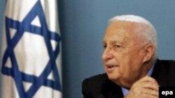 Ариэль Шарон, премьер-министр Израиля.