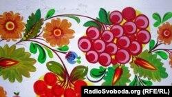 Орнаменти відомого розпису з села Петриківка