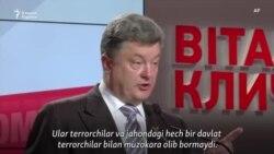 Шоколад қиролидан қўмондонликка: Украина президенти қайта сайланиш учун курашмоқда