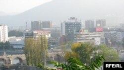 Панорама на Скопје
