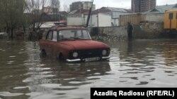 Bakı yağışdan sonra- [Fotolar]