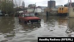 Yeni Yasamal yağışdan sonra- [Fotolar]