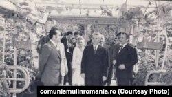 22 septembrie 1979. Vizită de lucru la CAP Scornicești, județul Olt