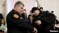 Сергія Бочковського затримали в березні 2015 року на засіданні Кабінету міністрів України