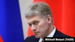 Прэс-сакратар Уладзіміра Пуціна Дзьмітрый Пяскоў, архіўнае фота.