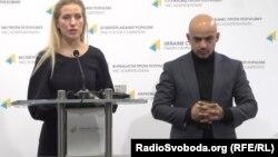 Депутати Верховної Ради Світлана Заліщук та Мустафа Найєм