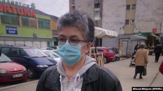Gorica Hutrić (na fotografiji, 9. februar): Kupujem sve na komad i samo ono što moram