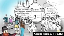 Azerbaijan - cartoon - Molla Nasreddin