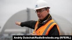 Саймон Еванс, голова «Чорнобильського фонду «Укриття» Європейського банку реконструкції та розвитку