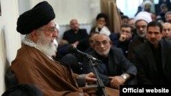 علی خامنهای در جمع دستاندرکاران مراسم حج
