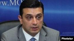 Министр здравоохранения Армении Армен Мурадян.