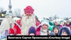 Сергей Прокопьев – добрый Дедушка Мороз