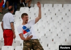 The Russian football hooligans in Marseille reportedly hailed from various Russian clubs who had set their differences aside for the day.