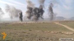 Հայկական կողմը պնդում է, որ ուղղաթիռը գտնվել է Ղարաբաղի տարածքում