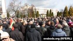 Belarus - protest la Pinsk, 11 martie 2017