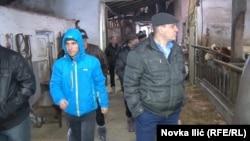 Poljoprivrednik iz Slovenije od države je dobio robota za mužu krava