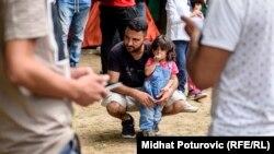 Brojni migranti došli su s djecom, Sarajevo