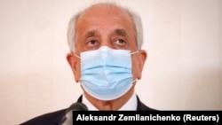 U.S. special envoy to Afghanistan Zalmay Khalilzad (file photo)
