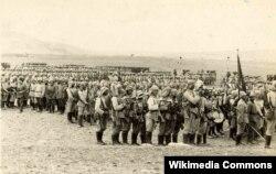 Osmanlı qoşunları Süveyş kanalına hücuma hazırlaşır - 1914