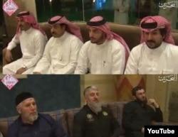 Четыре араба смотрели кадыровцам в упор, а те, в основном, - по сторонам