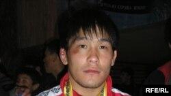 Кыргызстандык Базар Базаргуриев Азия чемпионатынын коло медалын тагынды.