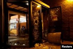 Последствия беспорядков в Беркли, февраль 2017 года