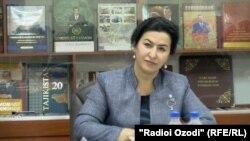 Мавлуда Қаландарзода, раиси Додгоҳи олии иқтисодии Тоҷикистон.