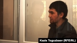 Sayan Khairov on trial in Almaty