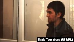 Sayan Khairov on trial in Almaty