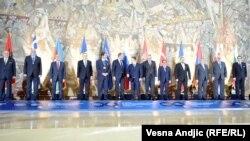 Uz dvanaest država članica, skupu su prisustvovale zemlje posmatrači među kojima i Sjedinjene Države, Austrija, Hrvatska i druge