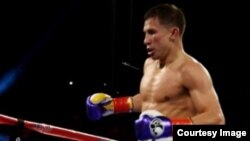 Геннадий Головкин, казахстанский чемпион мира по боксу.