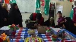 أخبار مصوّرة 11/04/2014: من الاحتجاج حول التعويض عن الأراضي المصادرة في كازاخستان إلى دورات الخياطة للنساء في كربلاء