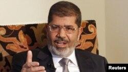 Egyptian President Muhammad Morsi