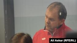 «Ақтөбе» футбол клубының бас директоры Дмитрий Васильев. Ақтөбе, 11 қараша 2016 жыл.