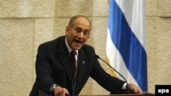 اهود اولمرت نخست وزیر اسراییل