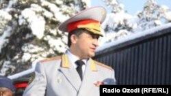 Абдухалим Назарзода в бытность заместителем министра обороны Таджикистана.
