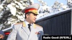 Тәжікстанның бұрынғы қорғаныс вице-министрі Абдулхалим Назарзода.