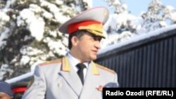 Former Tajik Deputy Defense Minister Abduhalim Nazarzoda (file photo)