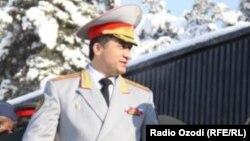 Former Deputy Defense Minister Abduhalim Nazarzoda (file photo)