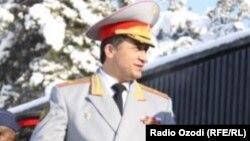 Тәжікстан қорғаныс министрінің бұрынғы орынбасары генерал Абдухалим Назарзода.