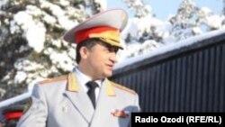 Тәжікстан қорғаныс министрінің бұрынғы орынбасары, генерал Абдухалим Назарзода.