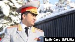 Бывший заместитель министра обороны Таджикистана Абдухалим Назарзода.
