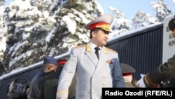Former Deputy Defense Minister Abduhalim Nazarzoda was not the first senior military officer in Tajikistan to have been accused of plotting attacks against the government. (file photo)
