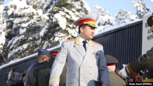 Former Deputy Defense Minister Abduhalim Nazarzoda is not the first senior military officer in Tajikistan to have been accused of plotting attacks against the government. (file photo)
