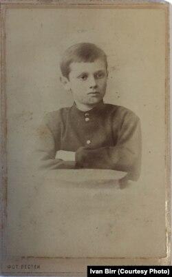 Александр Колчак в возрасте семи лет