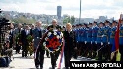 Dan sećanja na žrtve holokausta, Staro sajmiste, 22. april 2104.