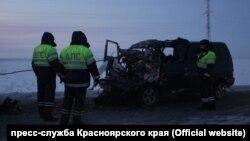 Смертельное ДТП на севере Красноярского края, в котором пострадали дети