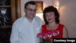 Петр Ткалич с супругой