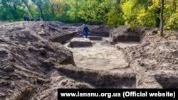 На місці розкопок. Ця та інші фотографії – Інституту археології НАНУ